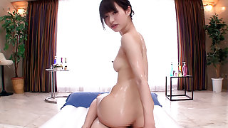 Moe Amatsuka in Moe Gives Him A Full Body Massage - TeensOfTokyo